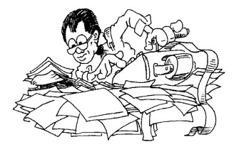 Accountant cartoon